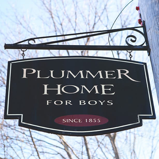 Plummer Home for Boys sign